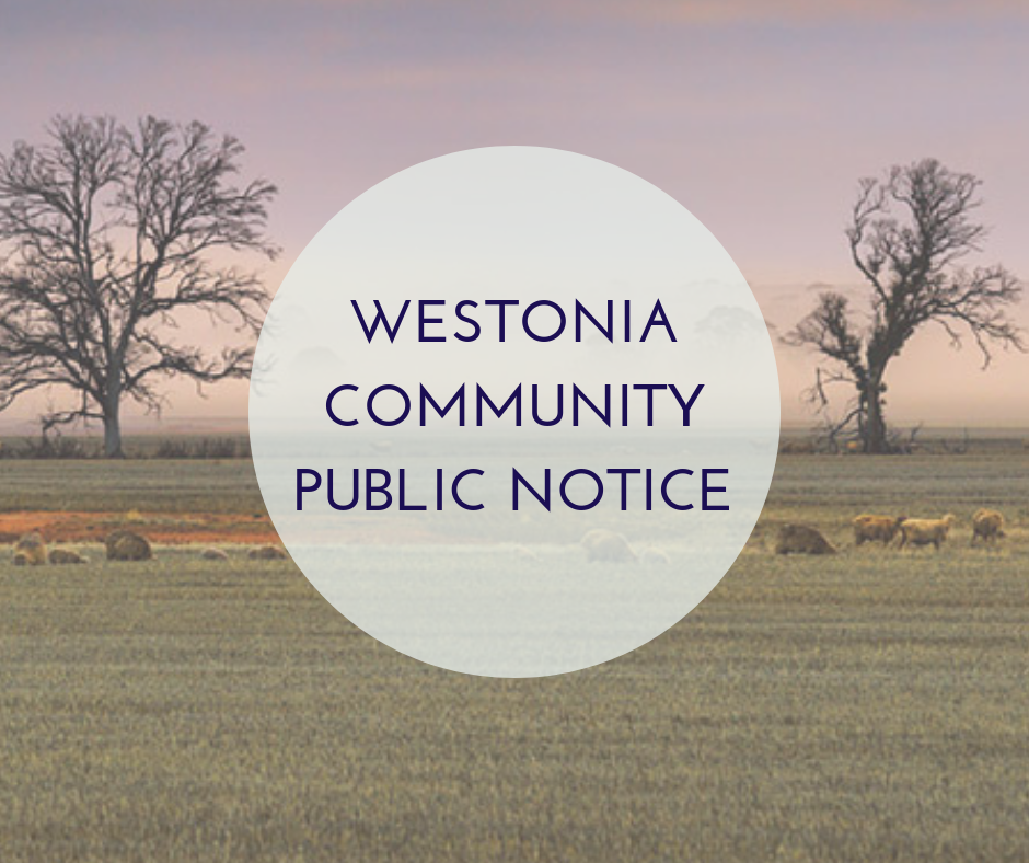 REVIEW OF REGIONAL FIXED STANDPIPES FOR THE SHIRE OF WESTONIA