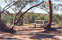 Sanford Rocks picnic area